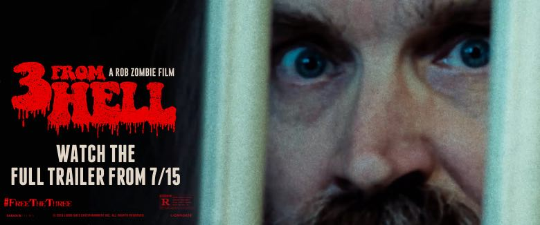 3 From Hell full trailer Rob Zombie