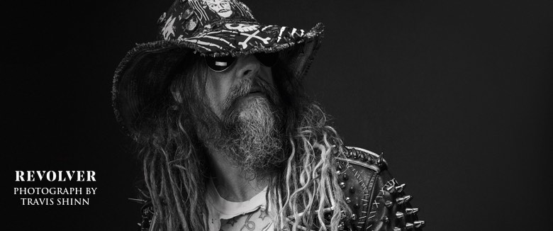 Rob Zombie Revolver Magazine Photo by Travis Shinn