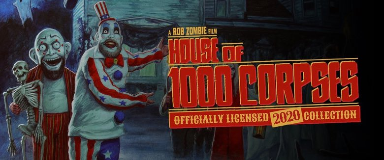House of 1000 Corpses Officially Licensed merchandise Frightrags Rob Zombie