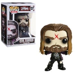 Rob Zombie Pop Rocks Funko Pop at official Rob Zombie online store