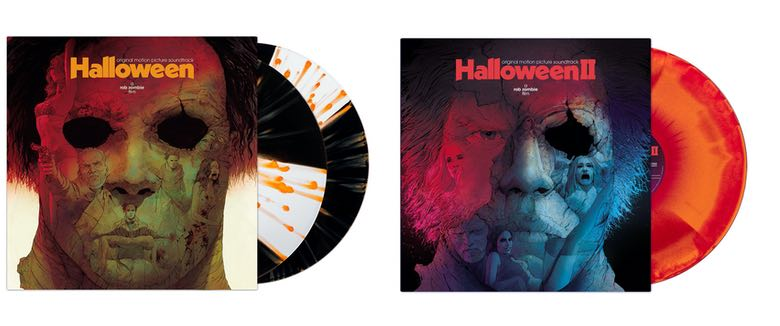Rob Zombies Halloween movie soundtracks vinyl waxwork records