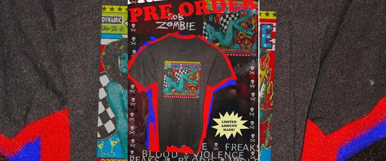 American Made Music To Strip By t-shirt Rob Zombie Local Boogeyman