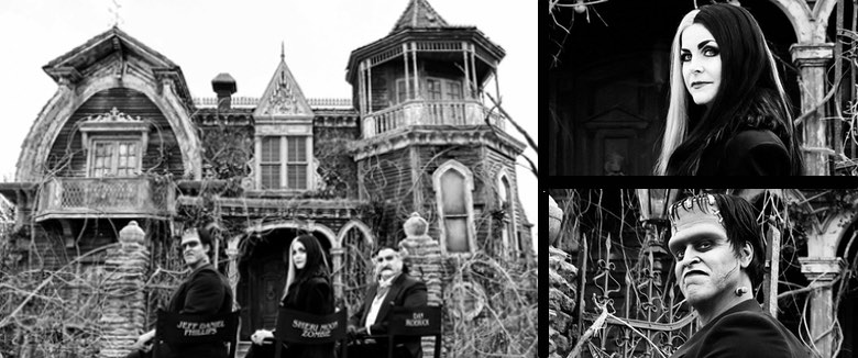 Rob Zombie's The Munsters Lily Herman and Grandpa