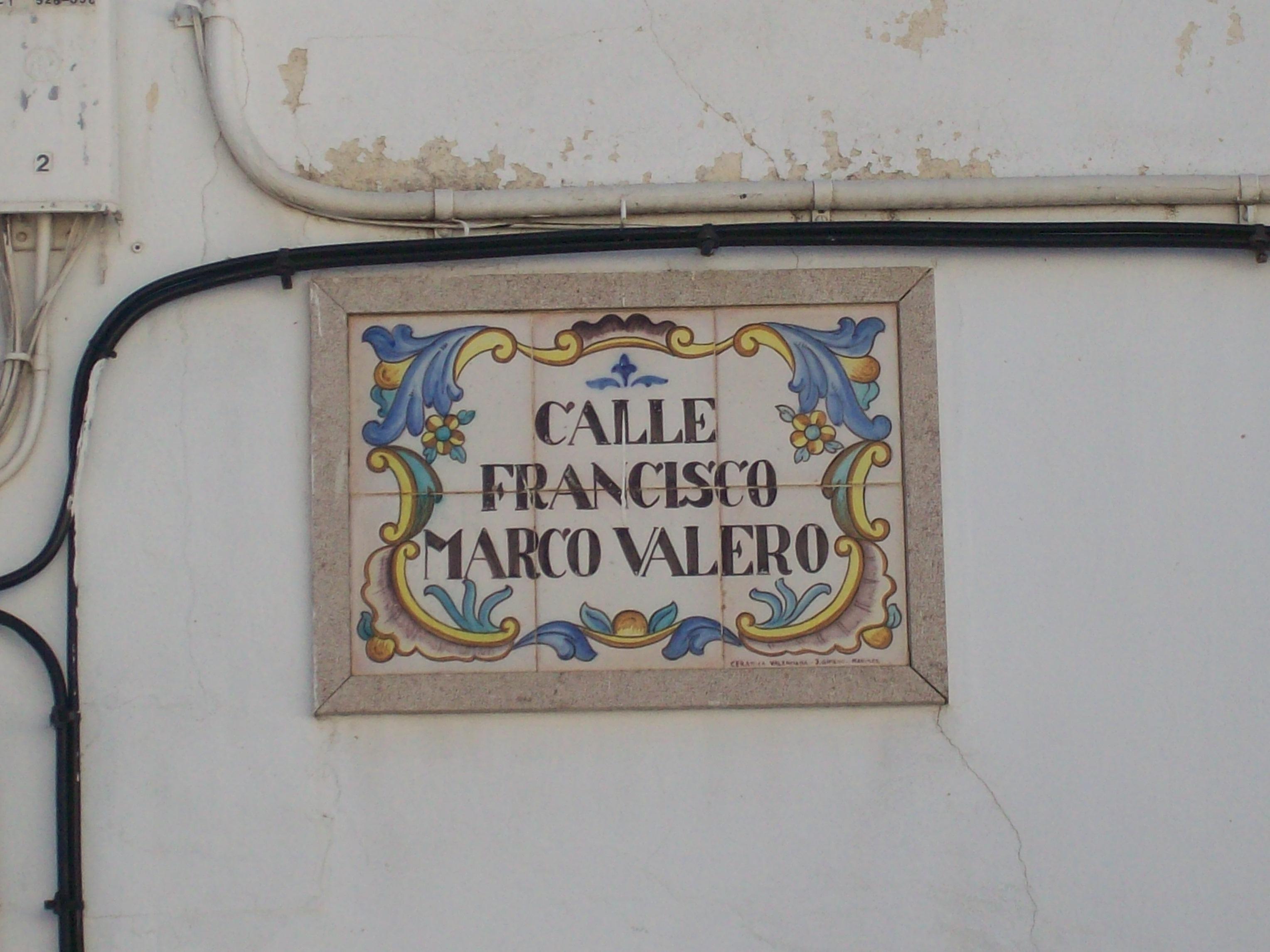 Azulejo valenciano als carrers I  ROCAFORT REFLEXIONA