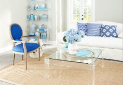LUCITE TABLE 1