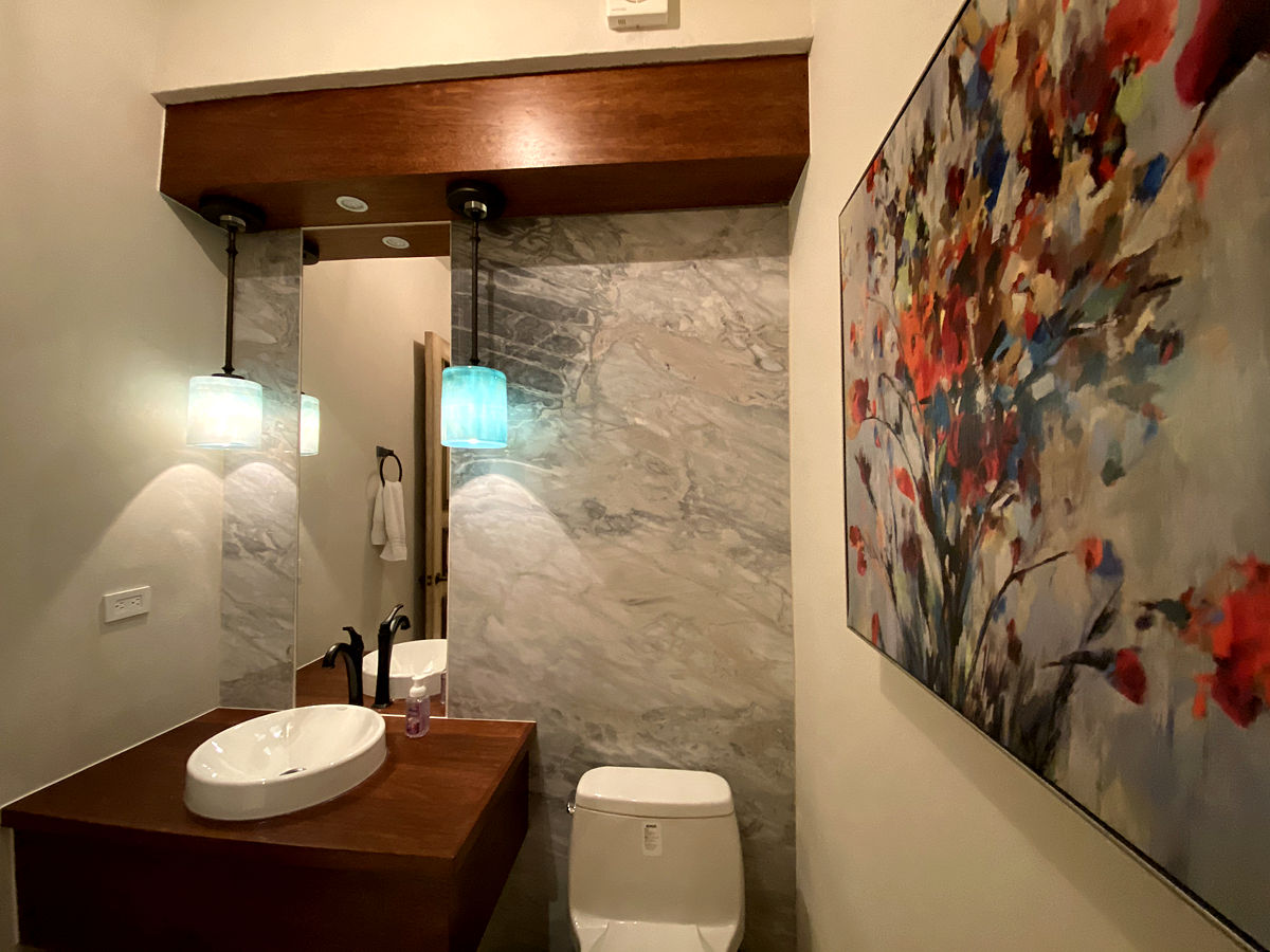Roca Villa Powder Room