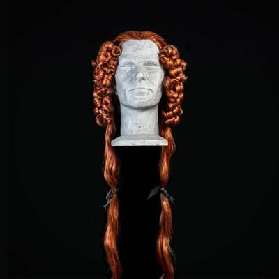 Parrucca rossa del 700