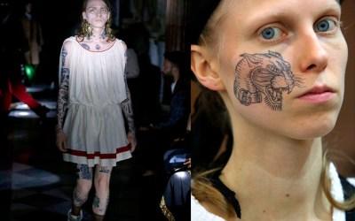 Nostri i Tattoo per la cruise 2020 di Gucci ai Musei Capitolini