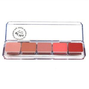 Palette con 5 blush in crema RCMA
