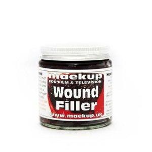 Sangue finto riempitivo per ferite Wound Filler di Maekup