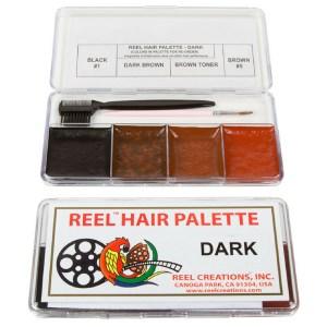 Palette di colori Dark per capelli Reel Creations