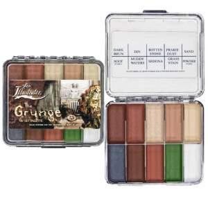 Palette The Grunge per il set di Skin Illustrator