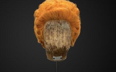 Parrucca da donna biondo veneziano