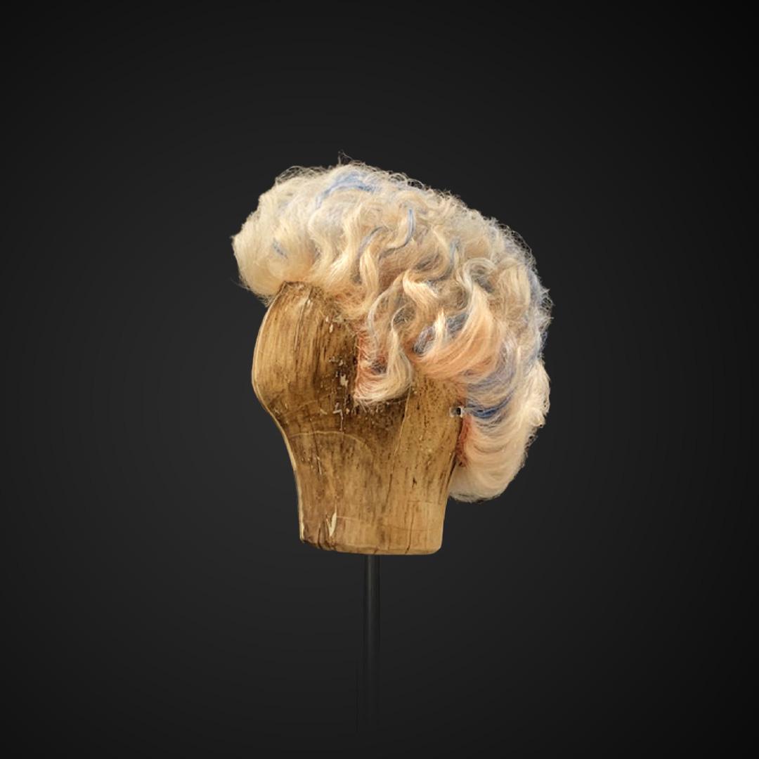 Parrucca multicolor primi '900