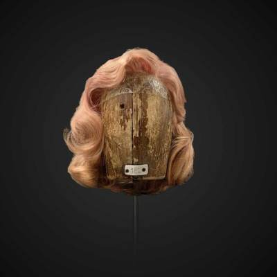 Parrucca biondo-rosa