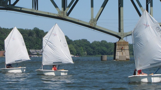 Sailing Class on Irondequoit Bay
