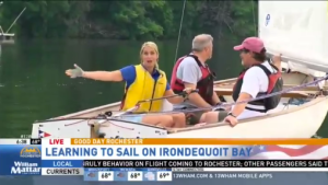 Jennifer Johnson from Fox News learns to sail