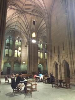 A study room inside Cathy.