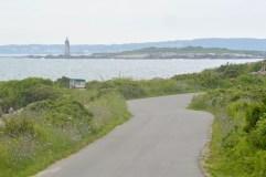 Ram Island light house as seen from the East side of Peaks Island.