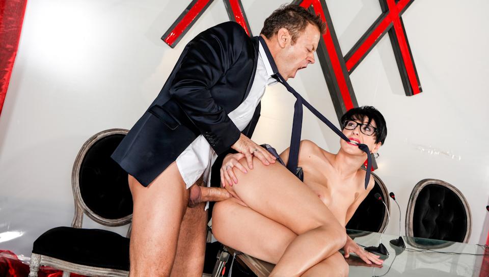 XXX Fucktory - La Parodia Italiana Style, Scene # 10 - Emylia Argan, Rocco Siffredi