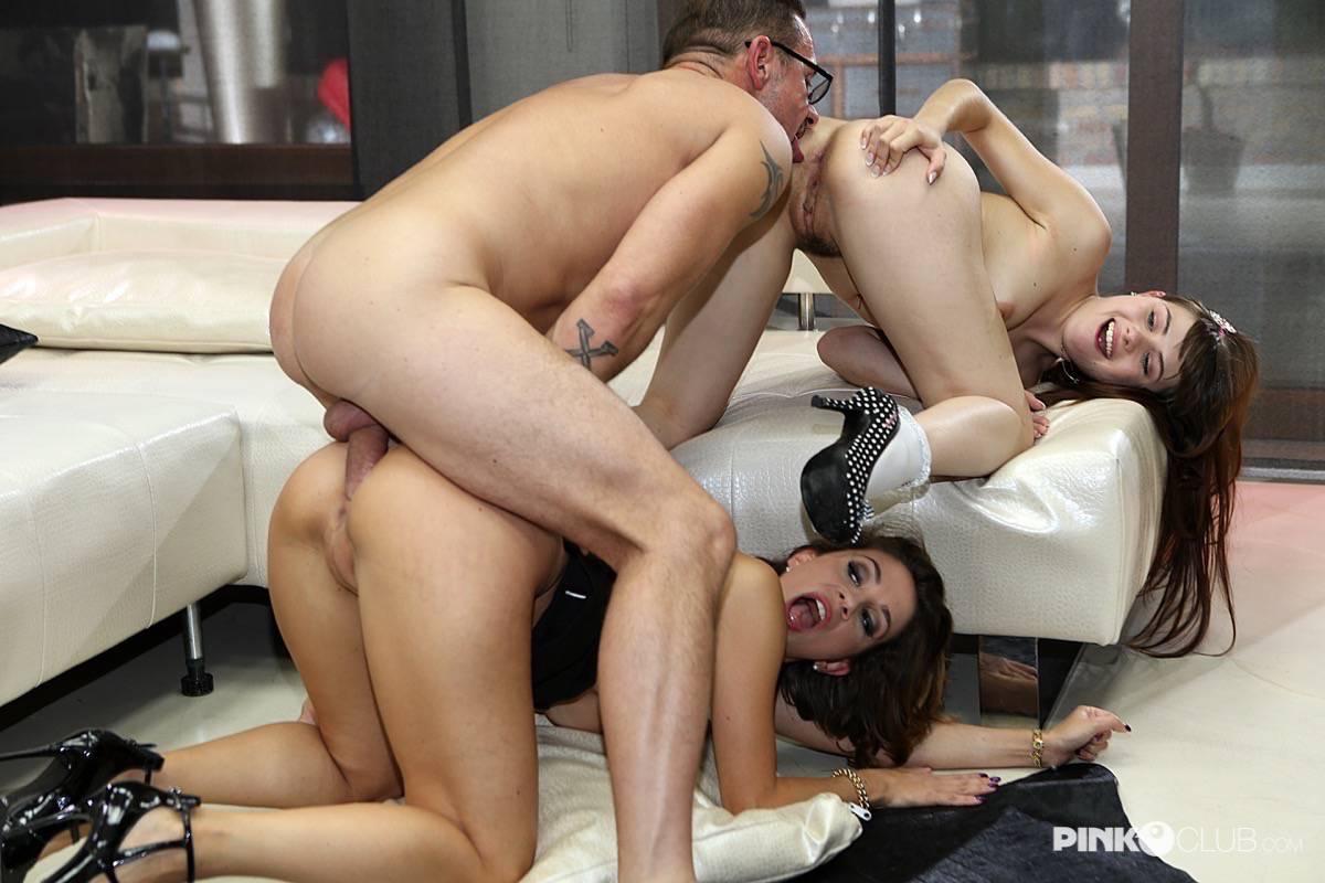 Malena, David Perry e Luna Rival 07