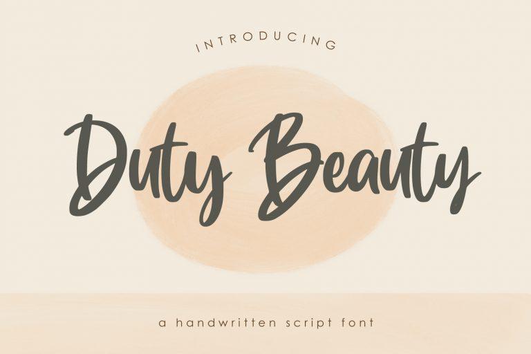 Duty Beauty