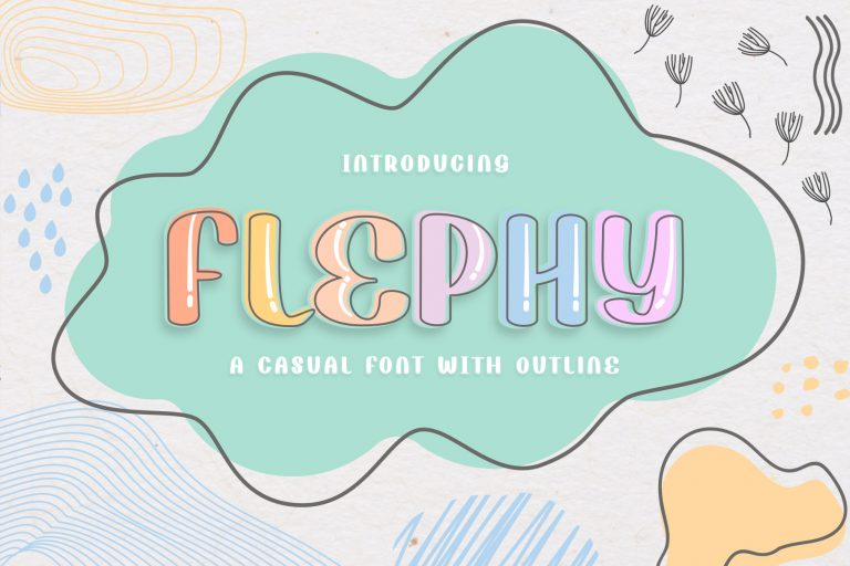 Preview image of Flephy Casual Font