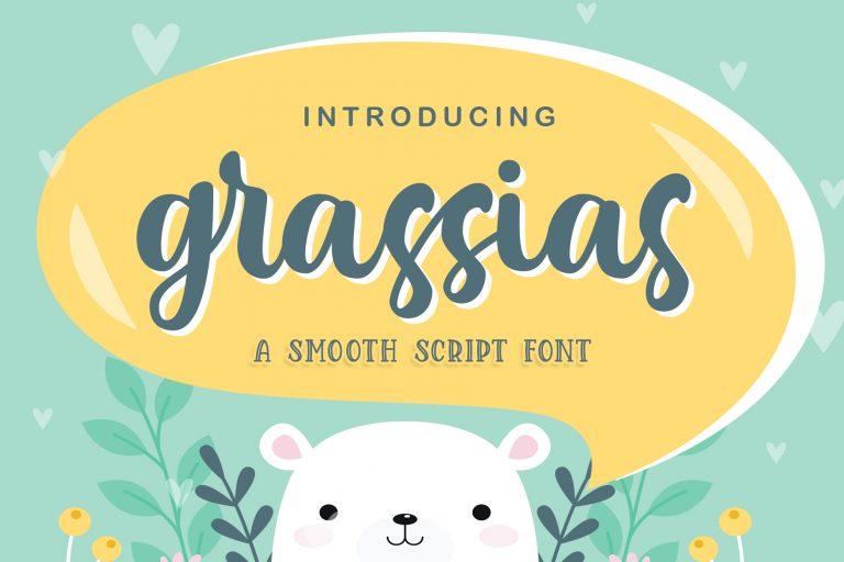 Grassias Smooth Script