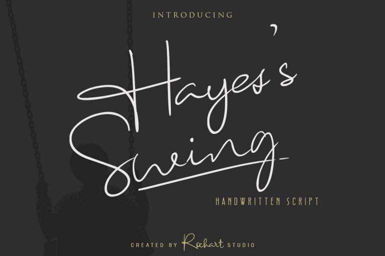 Hayes's Swing Script