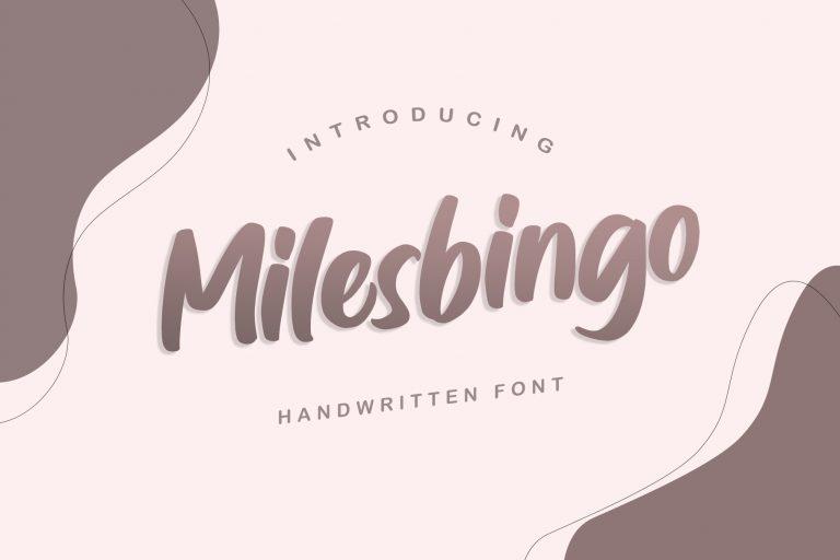 Preview image of Milesbingo