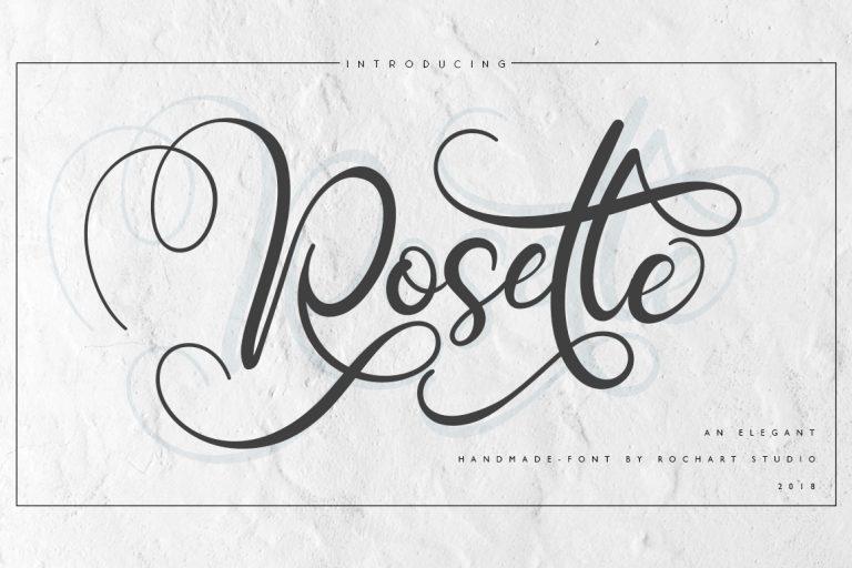 Rosette Script