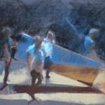 ©RocheGardies.Caligula 1 .Pastel sur papier 30x40cm. 3ème prix du concours des Pastellistes de France 2014