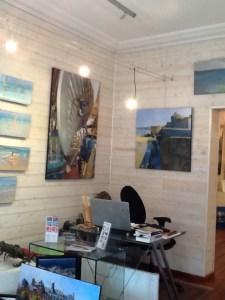 ©RocheGardies  roche gardies peintre  saint malo expo galerie les artistes et la mer avions bateaux  la rance saint briac  la grande hermine 2015  5