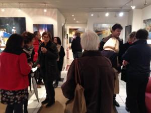 ©RocheGardies expo  galerie Zonzon  Brest.theatre intimes et maritimes 2016  vernissage  2