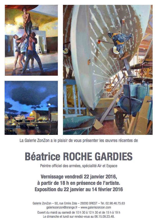 roche gardies peintre galerie ZONZON Brest expo 2016 théatres intimes et maritimes 2
