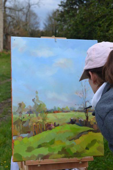 ©RocheGardies peintre stage. Améliorez votre style de peinture en 3 jours 2