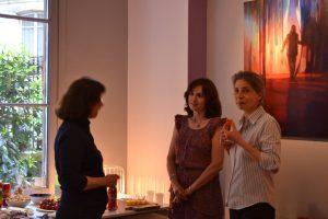 ©RocheGardies peintre   expo chez flora auvray arcitecte d'interieur Paris 2016  3