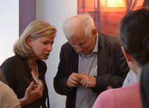 ©RocheGardies peintre   expo chez flora auvray arcitecte d'interieur Paris 2016  4