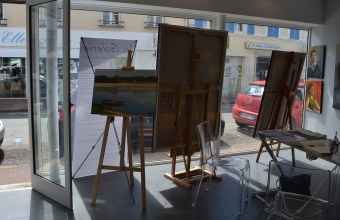 ©RocheGardies. peintre exposition chateau d'anet 2016 1