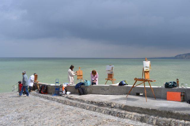 ©RocheGardies peintre stage de plein air peinture sur le motif varengeville sur mer0247