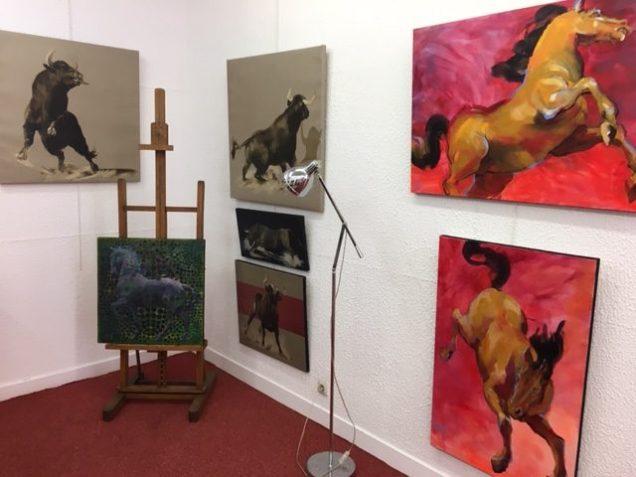 Roche Gardies peintre à la galerie Doublet à Avranches_0333