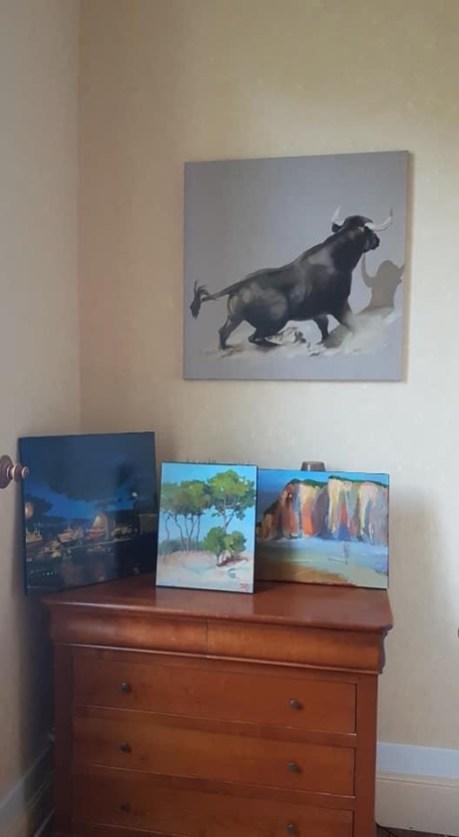 ©RocheGardies. peintre oleron taureau la bertonniere charente maritime 2020_8689