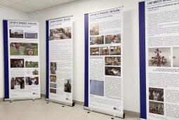 Panneaux sur les artistes brétilliens, exposition 2020