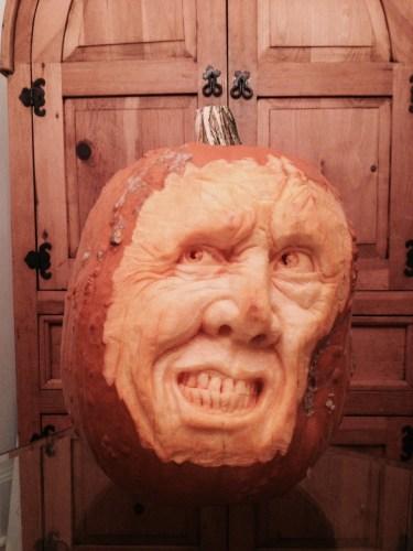 Pumpkin Sculpting Demonstration