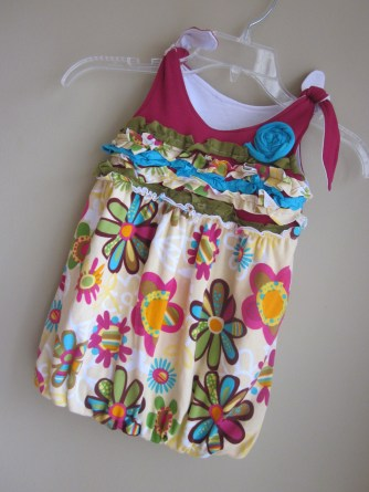 Candi Carr Flowered Dress