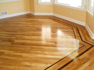 Hardwood Flooring Borders and Inlays - Rochester Hardwood Floor