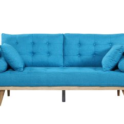 Blue And White Sofa Fabric Country Cote Sofas Modern Tufted Linen Light  Rochester