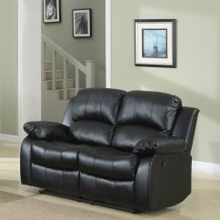 Overstock Sofa Covers Rooms To Go White Slipcovered Elegant Double Reclining Loveseat  Bonded Leather Living