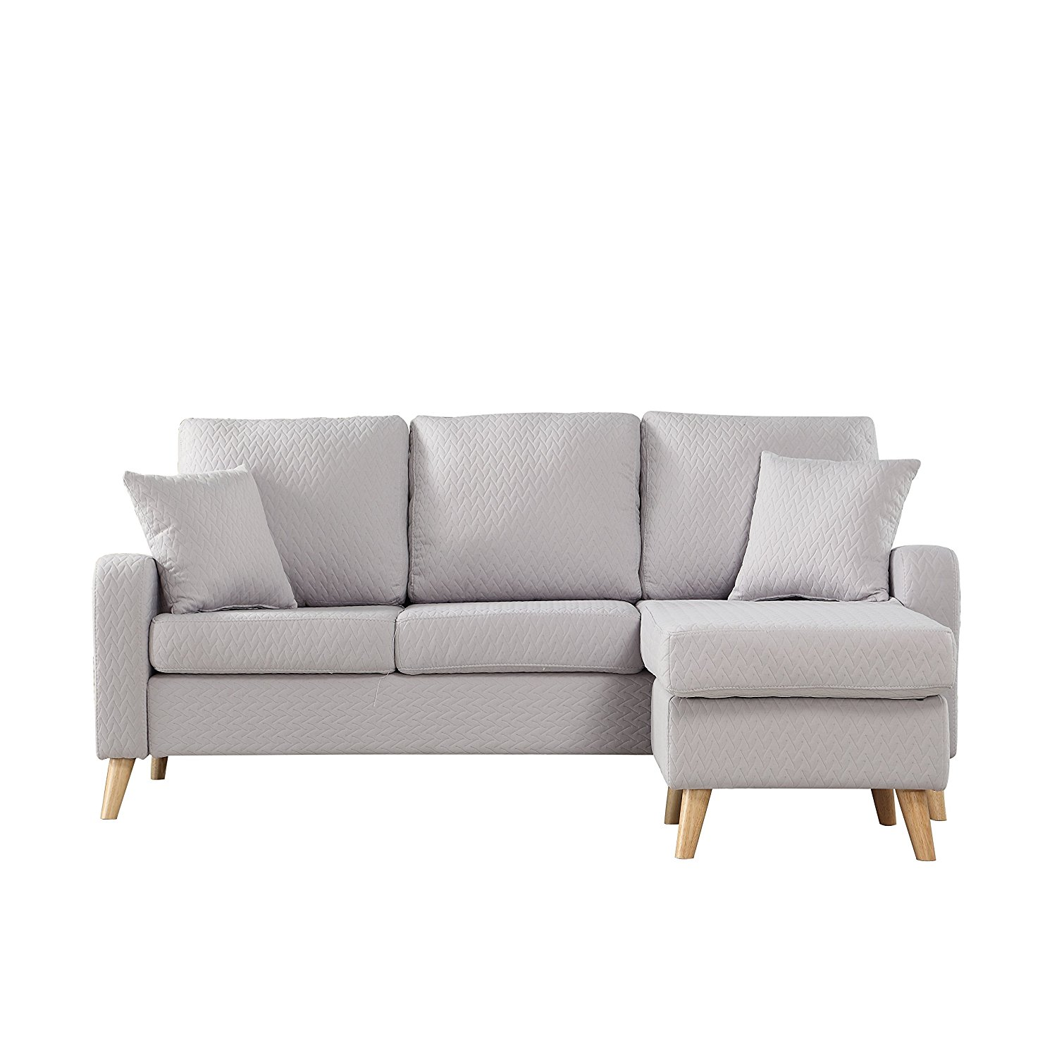 modern sofa colors fulton bed design sectional with reversible chaise 43 10