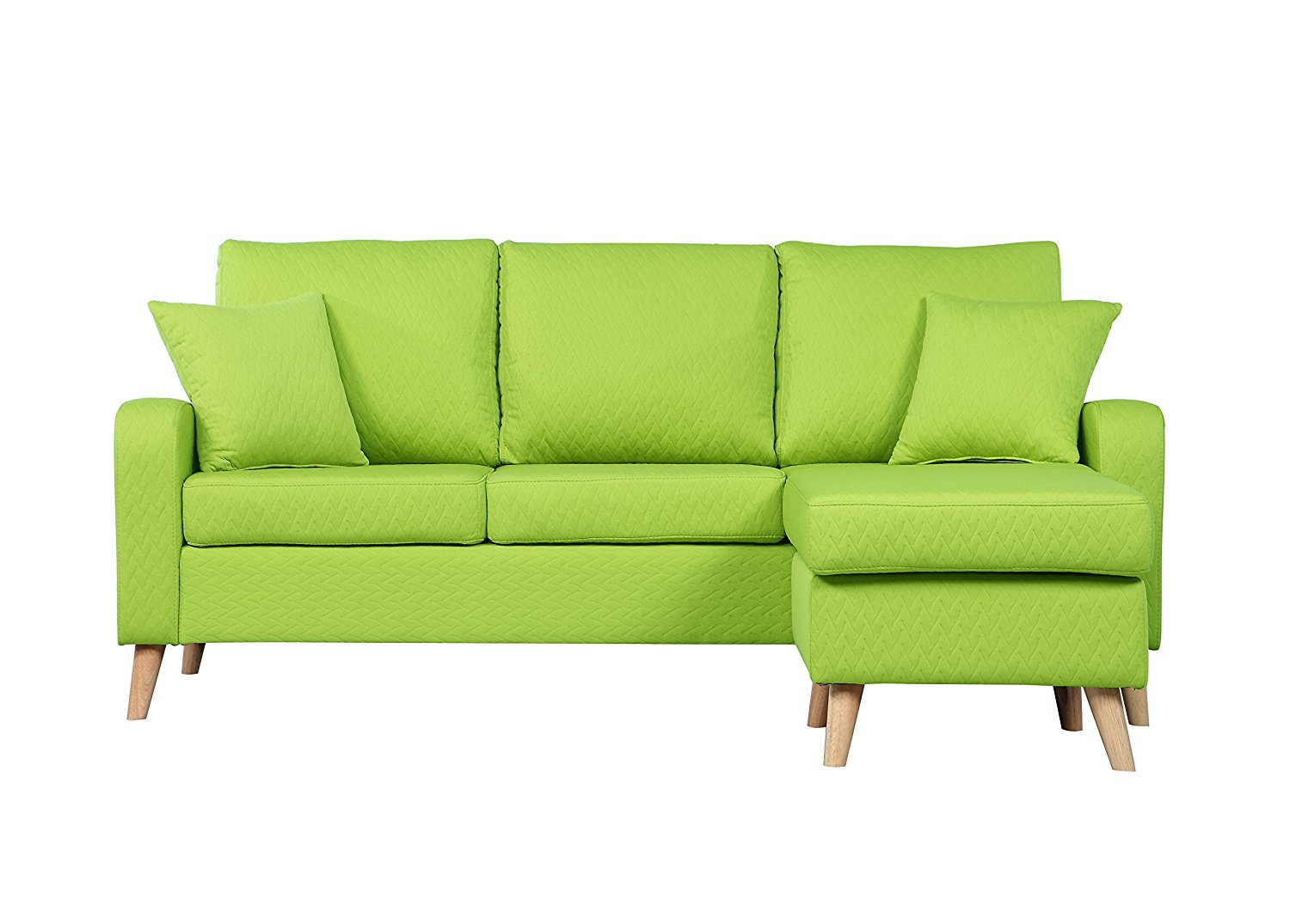 modern sofa colors green leather and chair design sectional with reversible chaise 43 10
